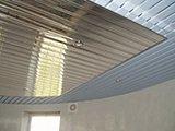 Монтаж реечного потолка цена за м2 работы в Москве